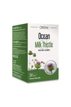 Ocean Milk Thistle 300 mg Silibin 30 Kapsül