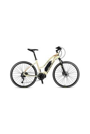 Kron Etx 500 Siyah Sarı Gri Elektrikli Bisiklet - Şehir Ve Tur 17 Inc
