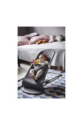 BabyBjörn Balance Bliss Ana Kucağı Cotton Oyuncaklı /Anthracite