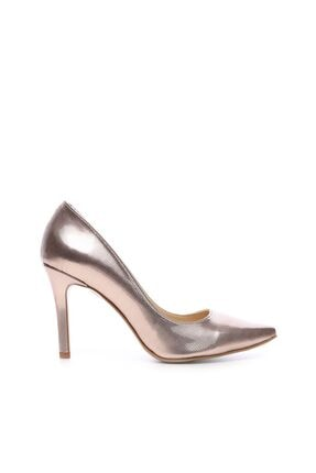 KEMAL TANCA Pembe Kadın Vegan Stiletto Ayakkabı 22 278 BN AYK