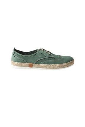 Hammer Jack Yesıl Nubuk Kadın Sneaker 236 10112-Z-1039