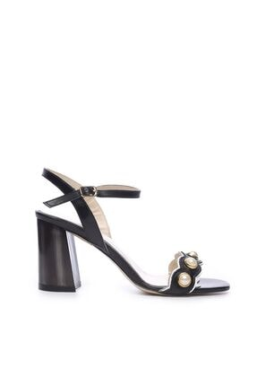 KEMAL TANCA Hakiki Deri Siyah Kadın Topuklu Ayakkabı 94 321 BN AYK