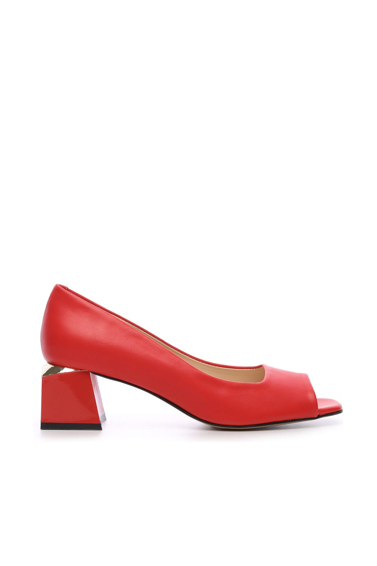 KEMAL TANCA Kırmızı Kadın Vegan Abiye Ayakkabı 22 6292 BN AYK Y19 1