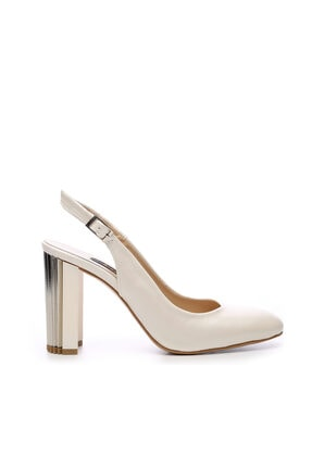 KEMAL TANCA Beyaz Kadın Vegan Abiye Ayakkabı 22 6260 BN AYK Y19