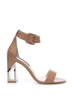 KEMAL TANCA Hakiki Deri Bej Kadın Klasik Topuklu Ayakkabı 94 6500Y BN AYK Y19