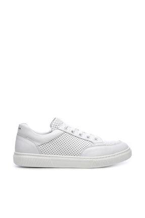KEMAL TANCA Hakiki Deri Beyaz Çocuk Ayakkabı 407 2040 CCK 31-36 Y19