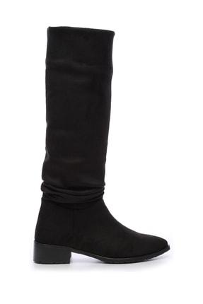 KEMAL TANCA Siyah Kadın Çizme Çizme 212 578C BN CZM SK18-19