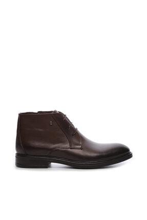 KEMAL TANCA Hakiki Deri Kahverengi Erkek Bot Ayakkabı 682 130 B TR ERK AYK SK19-20