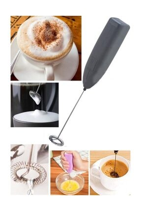 Getto Store Pilli Kahve-süt Karıştırıcı Köpürtücü