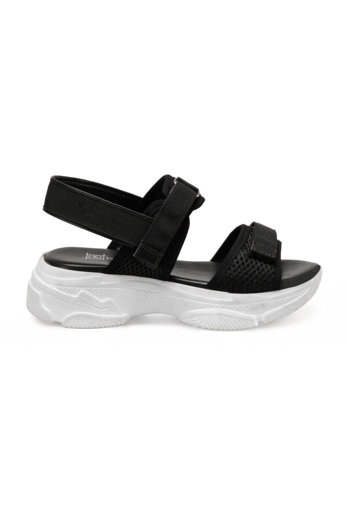 Butigo 19S-342 Siyah Kadın Sandalet 100383169 1