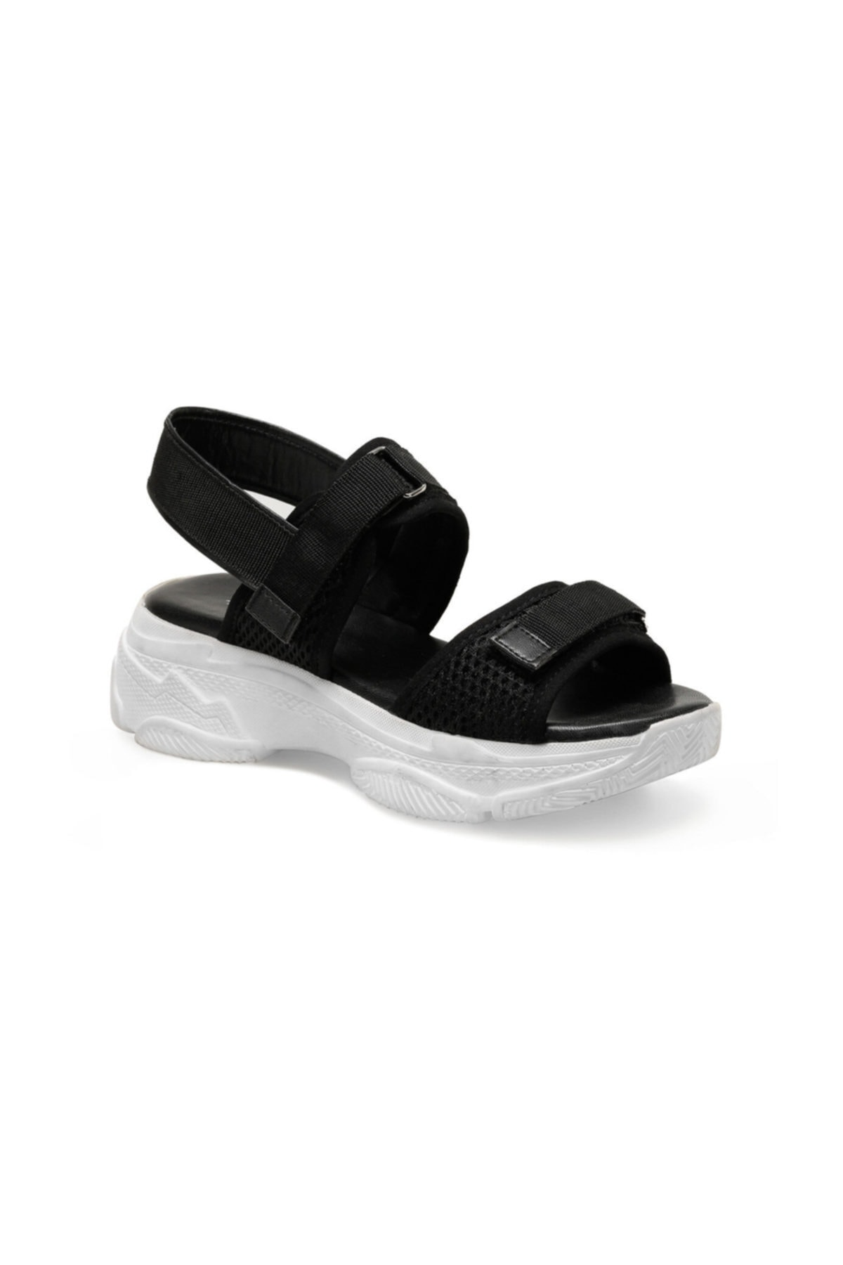 Butigo 19S-342 Siyah Kadın Sandalet 100383169 2
