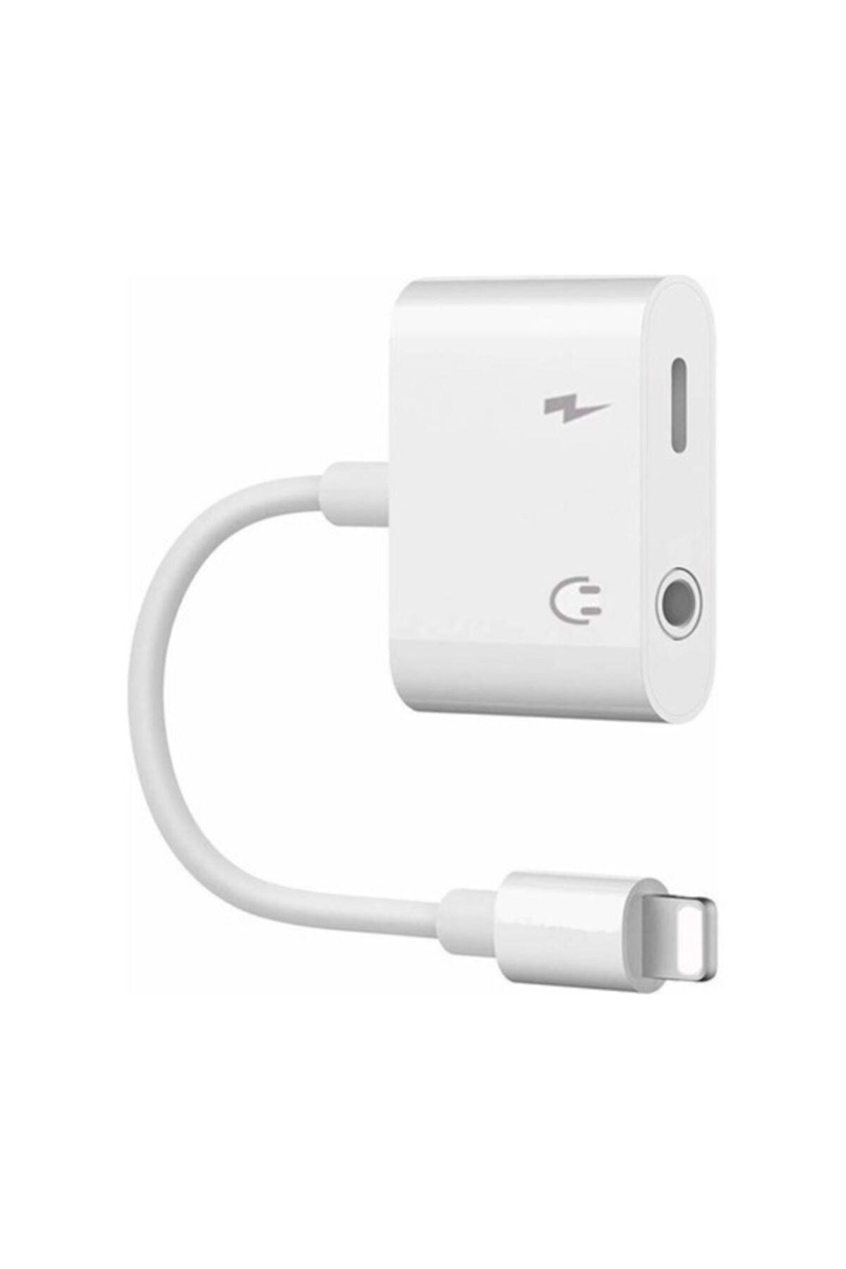 Kralphone Iphone Ipad Lightning Kulaklık Ve Şarj Çevirici Dönüştürücü Çoğaltıcı Kablo 6 7 8 X Xs Xs Ma 1