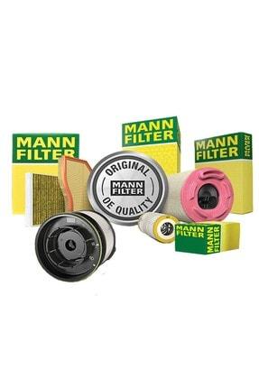 Mann Fılter Uzmanparça Vw Golf 7 1.6 Tdı Dizel Mann Filtre Bakım Seti 2013-2019   Hava+yağ+yakıt+karbonlu Polen