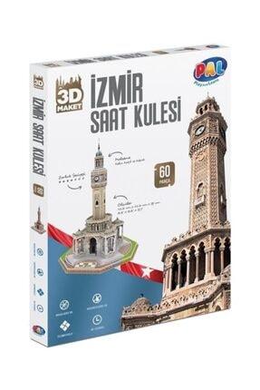 Pal Oyuncak Pal 3d Puzzle 60 Parça Izmir Saat Kulesi