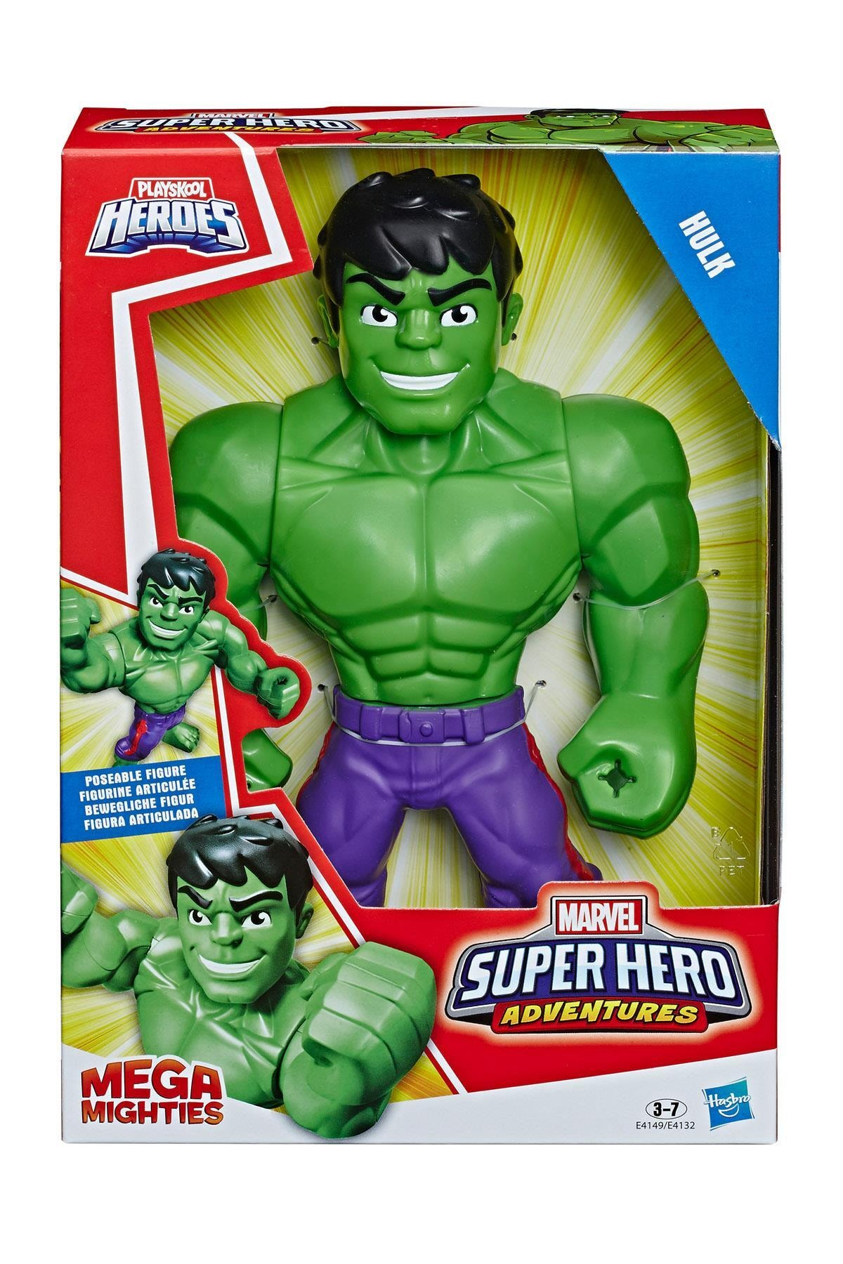 Playskool Marvel Mega Mighties Figür - Hulk