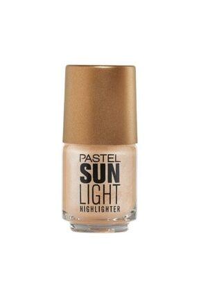 Pastel Likit Aydınlatıcı - Sun Highlighter No 101 8690644010668