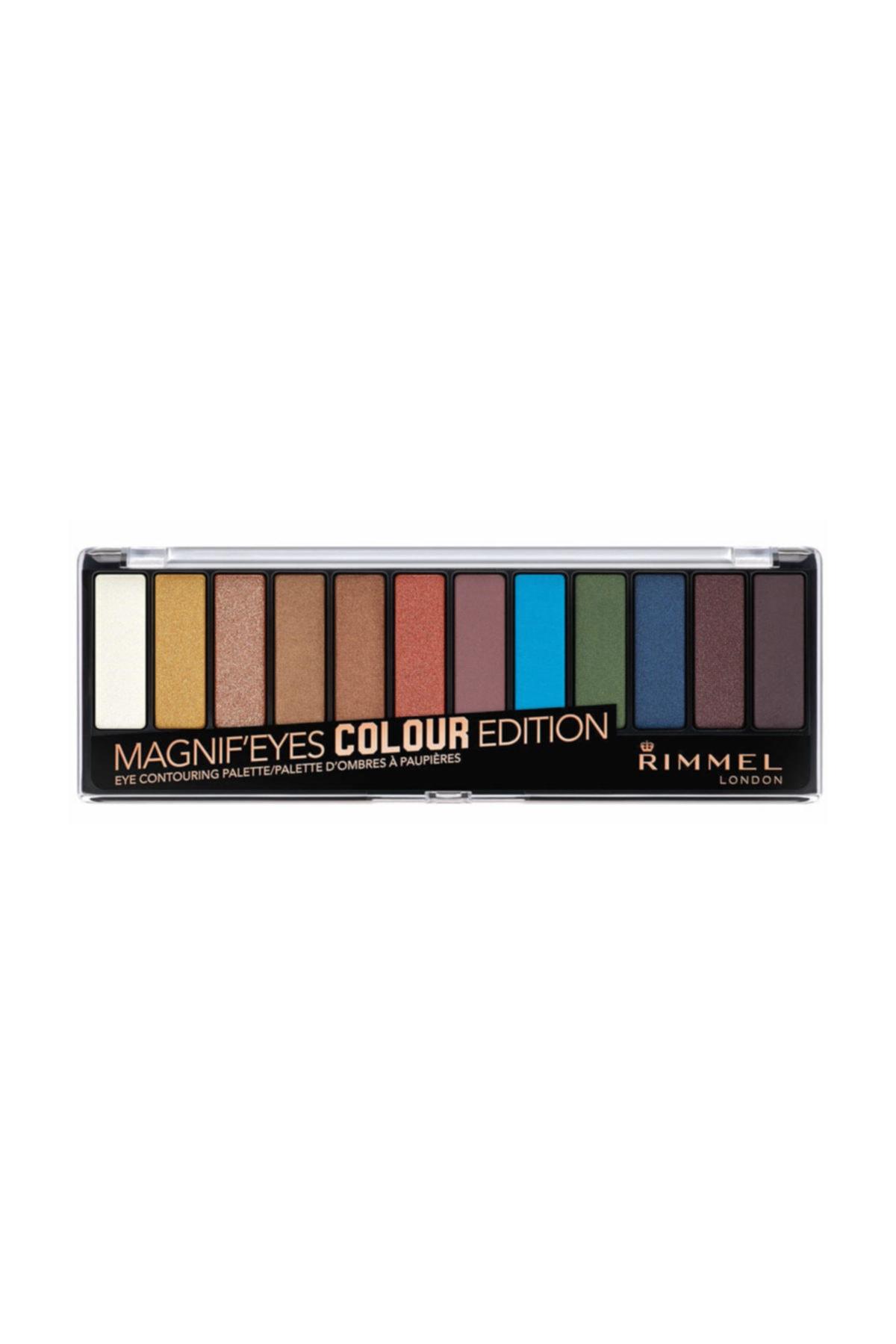 RIMMEL LONDON Far Paleti - Magnif'Eyes Eyeshadow Palette 12'li Colour Edition 3614224525149 1