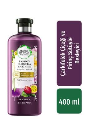 Herbal Essences Çarkıfelek Çiçeği Ve Pirinç Sütü Şampuan 400 ml