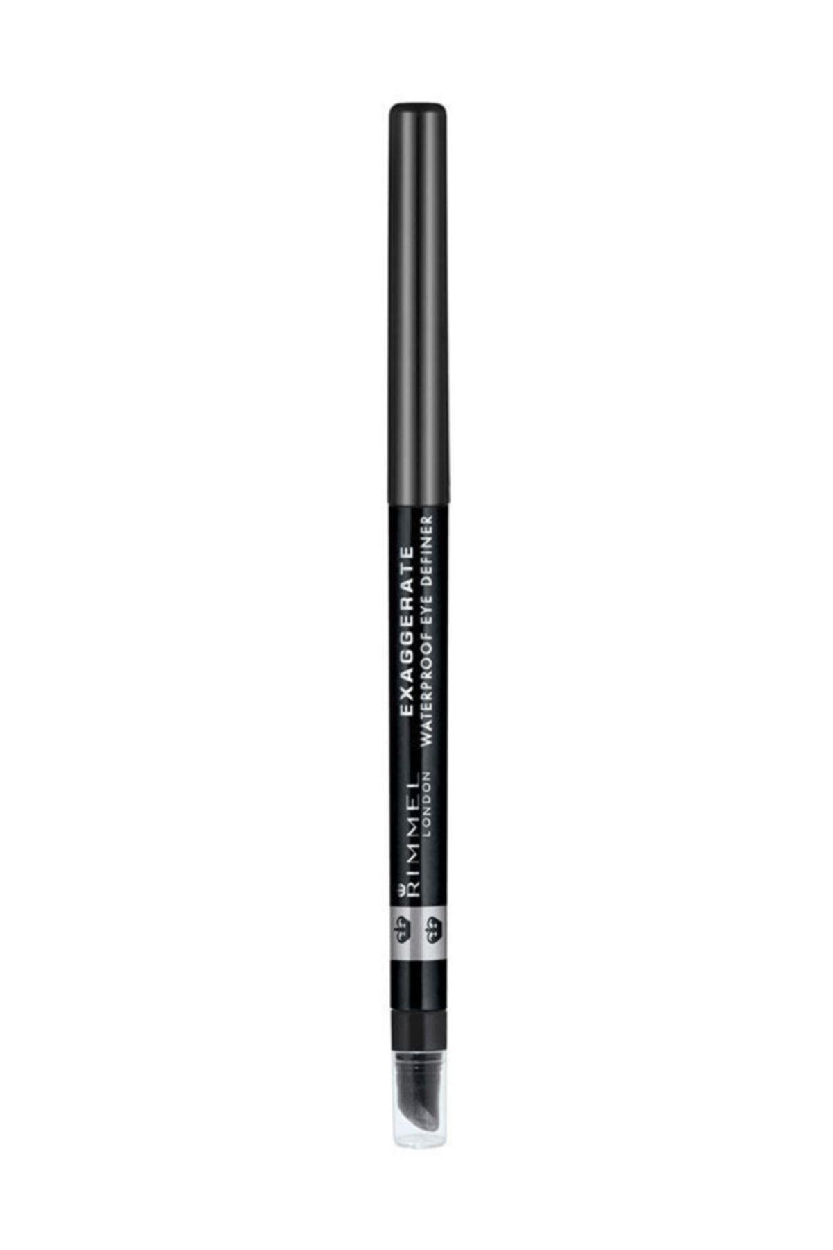 RIMMEL LONDON Eyeliner - Exaggerate Auto Eyeliner Siyah Noir 5012874128686 1