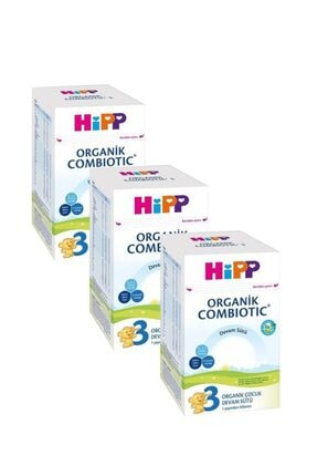 Hipp 3 Organik Combiotic Devam Sütü 800 gr 3'lü