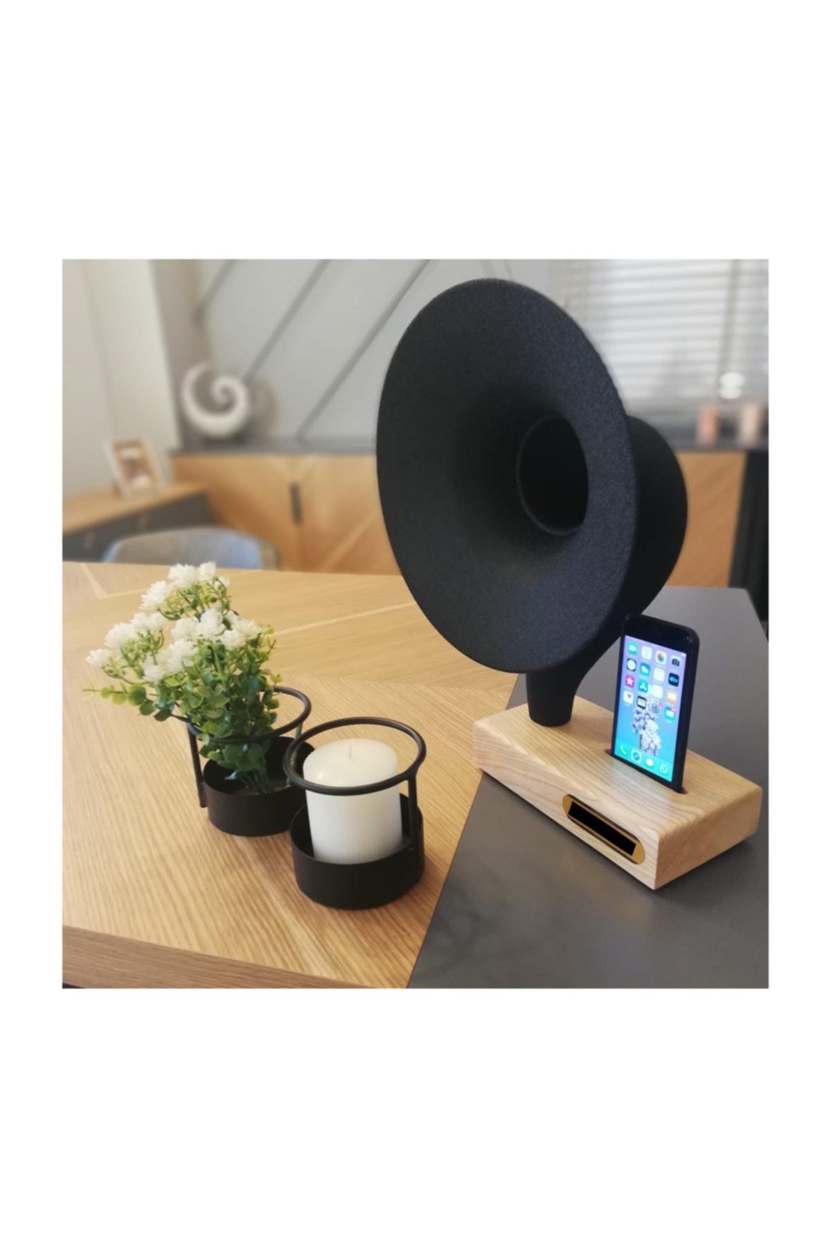 İDEAL TASARIM Grammy Akustik Gramafon Müzik Aleti Dekoratif Ürün Hediyelik Eşya 1