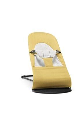 BabyBjörn Balance Soft Ana Kucağı Cotton Jersey / Yellow Grey