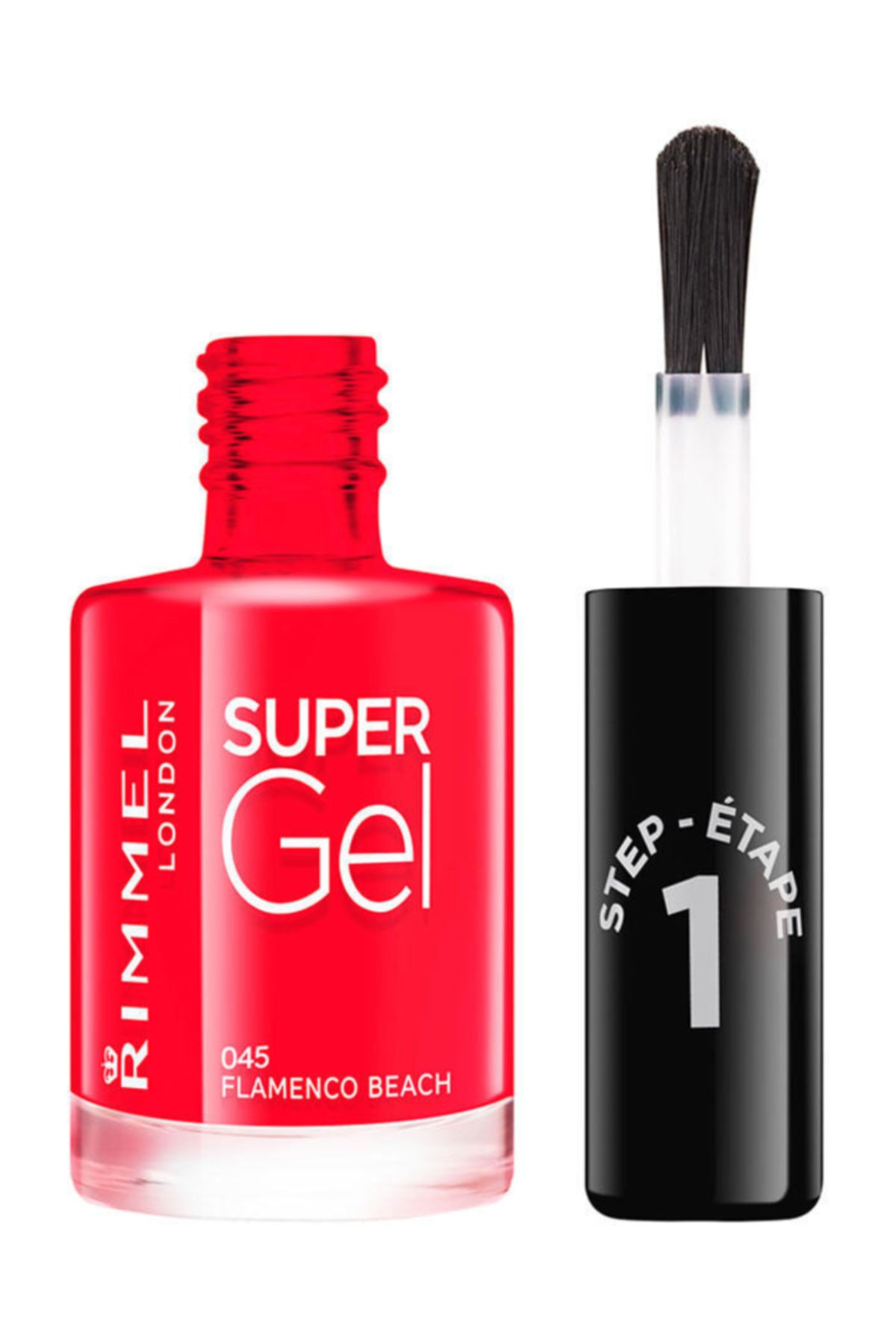 RIMMEL LONDON Oje - Super Gel 045 Flamenco Beach 12 ml 30121645 1