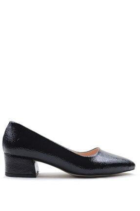 Buffalo Stylısh Black Fashıon Topuklu Ayakkabı