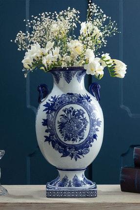 Madame Coco Les Abymes Bleu Blanc Dekoratif Obje
