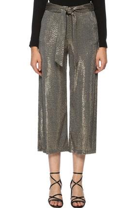 Network Kadın Bol Paça Altın Rengi Pantolon 1070745