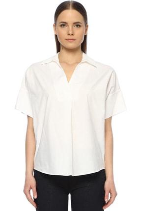 Network Kadın Regular Fit Beyaz Gömlek 1073351