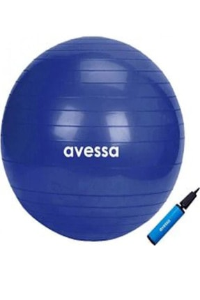 AVESSA Marka Plates Topu Şişirme Pompası Ile Birlikte 65cm