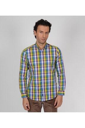 Karaca Erkek Slim Fit Casual Gömlek Yeşil