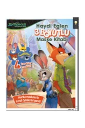 Doğan Egmont Disney Zootropolis Hayvanlar Şehri 3 Boyutlu Maske