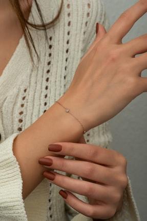SUNSHINE 925 Ayar Gümüş Zirkon Taşlı Bileklik