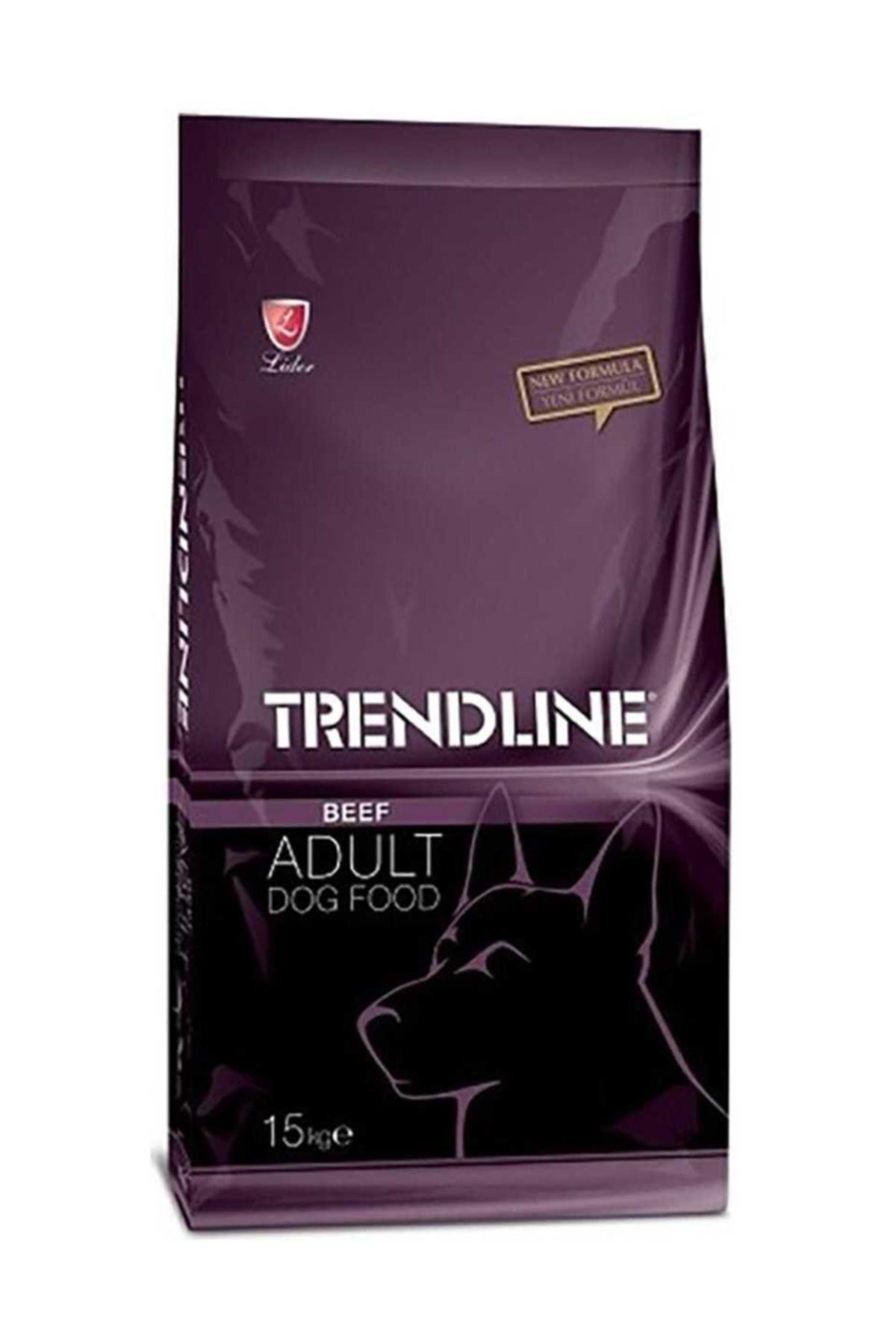 Trendline Biftekli Yetişkin Kuru Köpek Maması - 15 kg 1