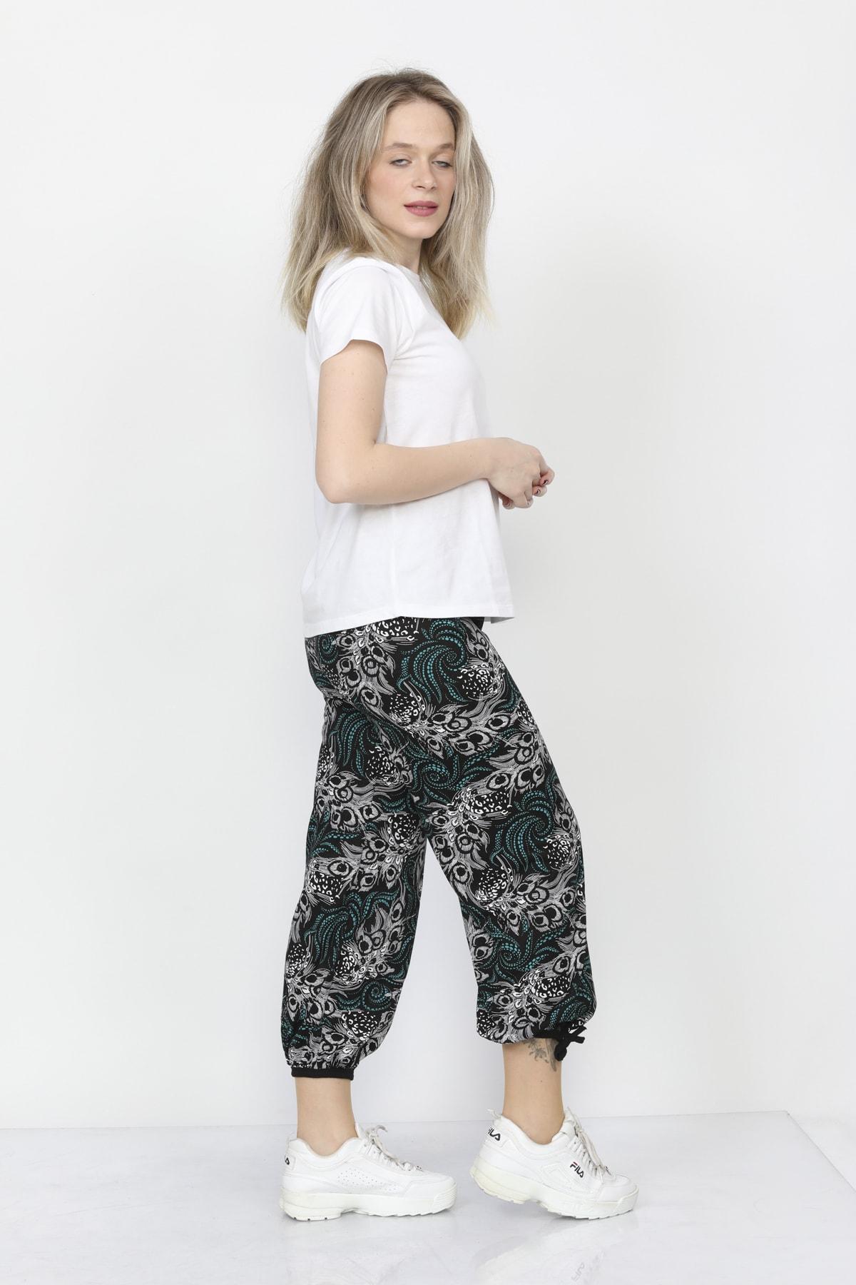 ESPİNA Kadın Bol Pantolon Şalvar 2