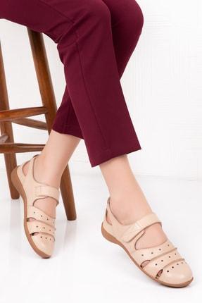 Gondol Kadın Hakiki Deri Günlük Ayakkabı