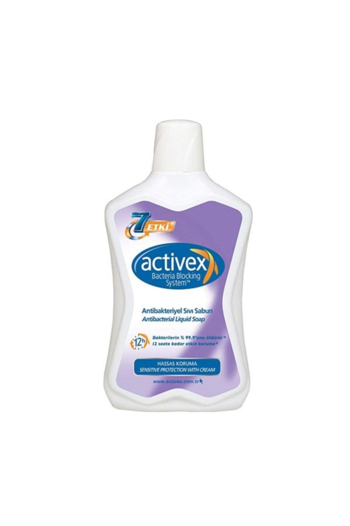 Activex Antibakteriyel Hassas Sıvı Sabun 650 ml 1