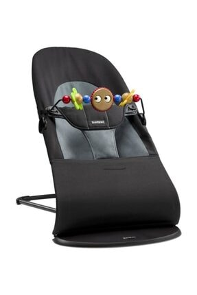BabyBjörn Balance Ana Kucağı & Oyuncak Soft Black Dark Grey