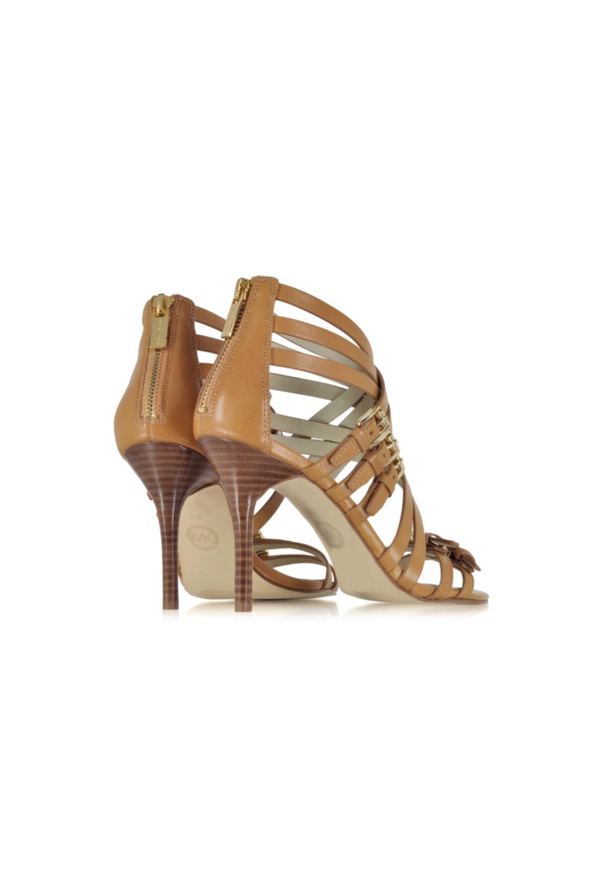 Michael Kors Ava Kadın Topuklu Sandalet Peanut 40s5avhs1l 2