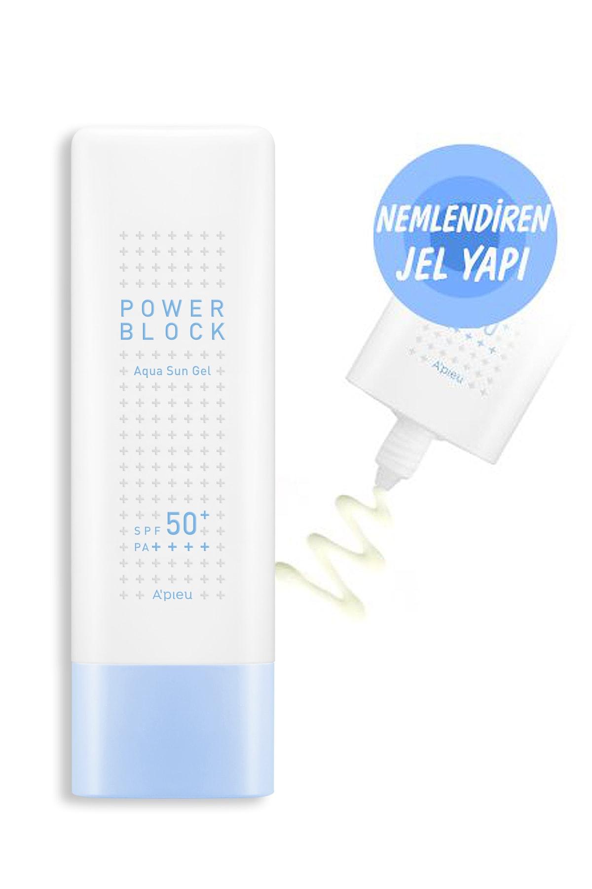 Missha Nemlendirici Güneş Koruyucu Jel - Power Block Aqua Sun Gel SPF50+ 50ml 8809581444072