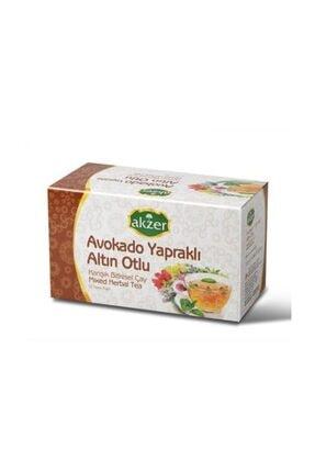 Akzer Avokado Yapraklı Altın Otlu Çay (25 Süzen Poşet)