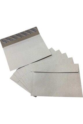 Asil 114x162 Mm Silikonlu 90 Gr Kraf Mektup Zarfı 100 Adet