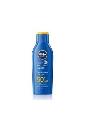 Nivea Sun Baby Bakım Yapan Güneş Sütü Spf50+ 200 ml