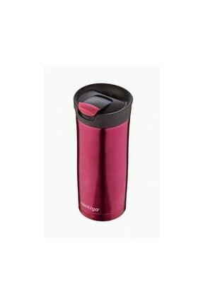 Contigo Huron SnapSeal SS 470ml Canlı Kırmızı Çelik Mug