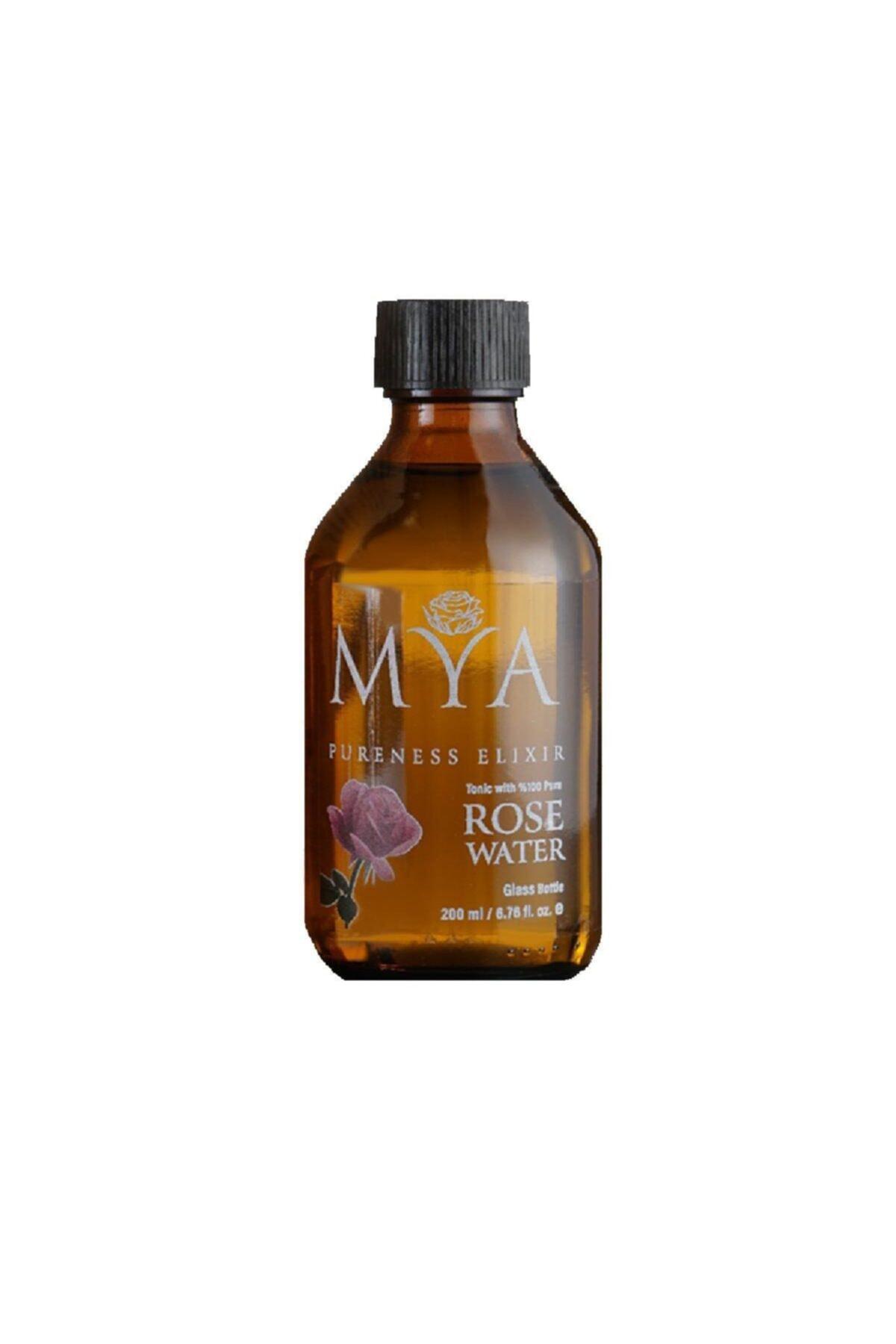 MYA Tam Yağlı Gül Suyu 200 Ml Renkli Cam Şişe 2