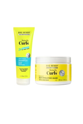 MARC ANTHONY Strictly Curls 3x Nemlendirici Şampuan 325 ml+ Strictly Curls Dalgalı Saç Nem Maskesi 295 ml