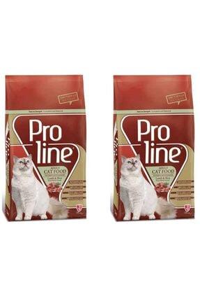 Pro Line Kuzulu Yetişkin Kedi Kuru Maması 1.5 Kg 2 Adet