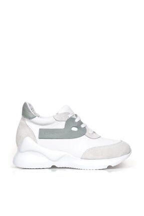 BUENO Kadın  Shoes Hakiki Deri Bağcık Detaylı Spor Ayakkabı 20wq1805